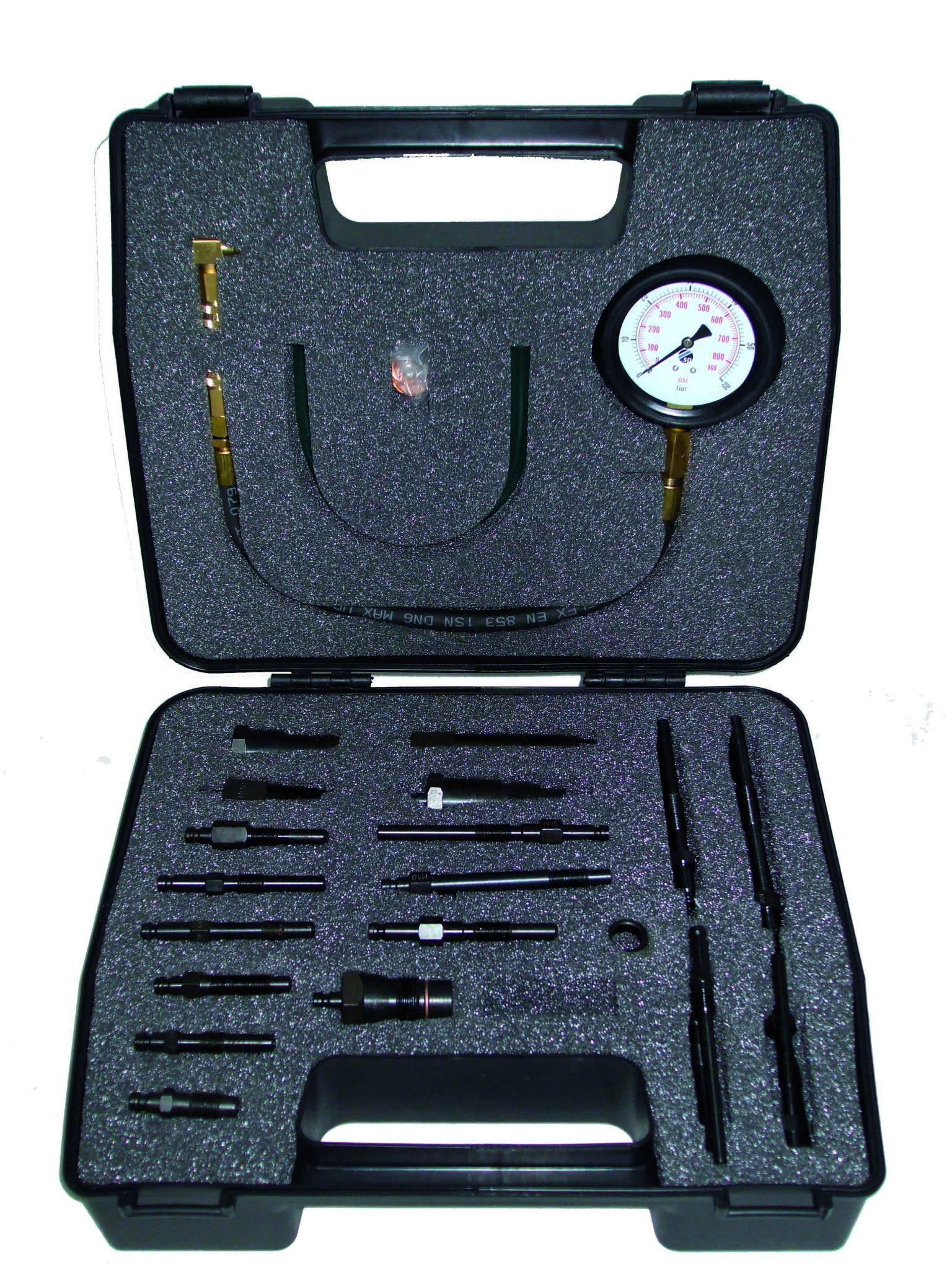 Sykes-Pickavant 314295V2 Diesel Compression Tester - Premier Car Kit (Passenger Vehicle)-0