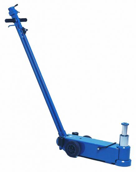 Weber 25/10 Tonnes Twin Ram Air/Hydraulic Trolley Jack-0