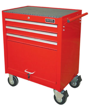 Britool BRCR3 3 Drawer Roller Cabinet with compartment