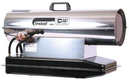 SIP 09041 Professional Fireball 660S -Diesel Paraffin/Kerosene and Electric 230v Powered Space Heater.-0