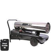 SIP 09047 Fireball 1645S Diesel Space Heater S/S (164,500 Btu) 230v-0