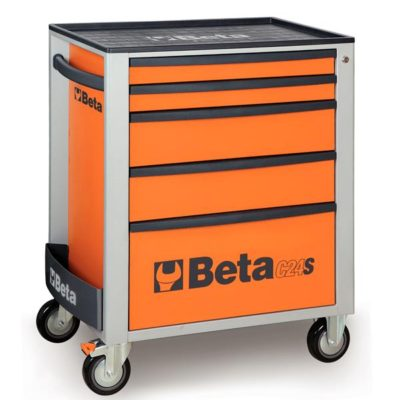 Beta C24S 5/O-Mobile Roller Cab 5 Draw.Orange-0