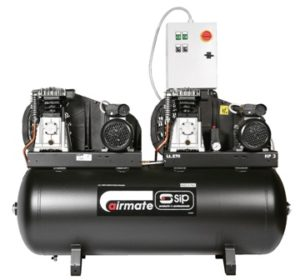 SIP05251 Airmate B3800/270 Tandem Compressor-0