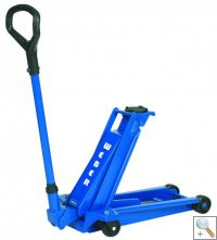 WDK20 Standard 2 Tonne Trolley Jack with: Very low minimum height of 80mm.-0