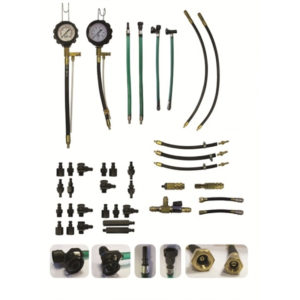 Sykes Pickavant - Combined Fuel Injection Pressure Test Kit For Multi Point & Single Point Systems (Petrol)