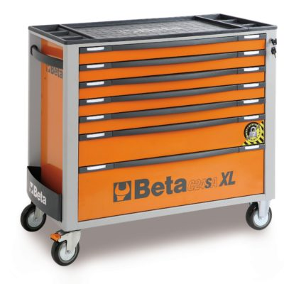 Beta Action Mobile Roller Cab with 7 drawers, anti-tilt system, Long Model (024002271) -0