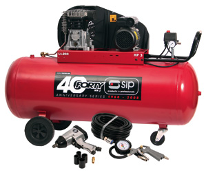 SIP04294 Forty-TN3HP/200-SRB Compressor + (7 piece kit) (SIP04294)-0