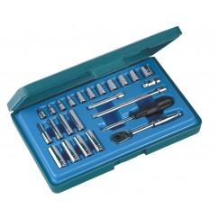"""1/4"""" Dr Socket Set (S11724S)-0"""