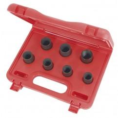 "1/2"" Dr Locking Wheel Nut Remover Set (T431107)-0"