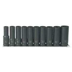 "1/2"" Dr Deep Impact Socket Set (T930100)-0"