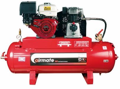 SIP Airmate Industrial Super Compressor - ISHP5.5/150 (Honda) (04450)-0