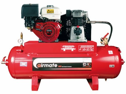 SIP Airmate Industrial Super Compressor - ISHP8/110 (Honda) (04452)-0