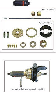 KLANN Upgrade Kit for Wheel Hub Bearing Unit Installation, Volvo, Ford, Mazda (KL-0041-461D)-0