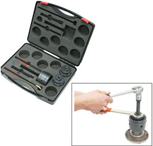 KLANN Inner Bearing Race Puller Set, with Collet Chucks Size 4 and Size 5 (KL-0042-91K)-0