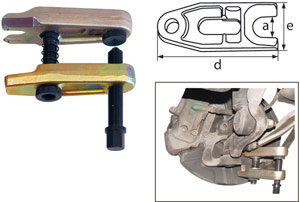KLANN Ball Joint Extractor, Size 2 (KL-0165-25)-0