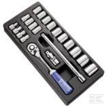 """Britool 22 Piece 1/2"""" Sockets & Accessory Module (E194677)-0"""