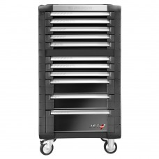 Facom 11 Drawer JET + 3 Roller Cabinet (JET.11GM3)-0